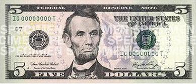 5-dollarseddel
