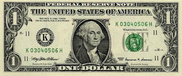1-dollarseddel