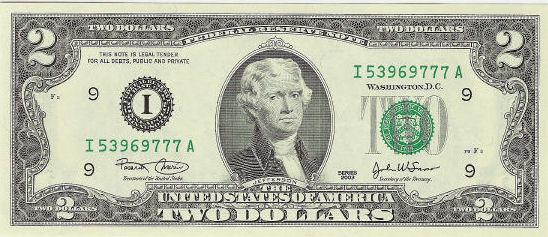2-dollarseddel