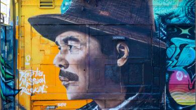 Mission District. Vægmalerier