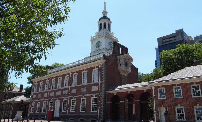 Philadelphia, Hovedstad